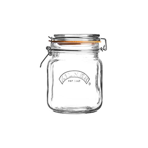 Kilner Clip Top Jar, 1 Litre | SpreeIndia.com - India's First Website That Discovers Eco-Friendly Products