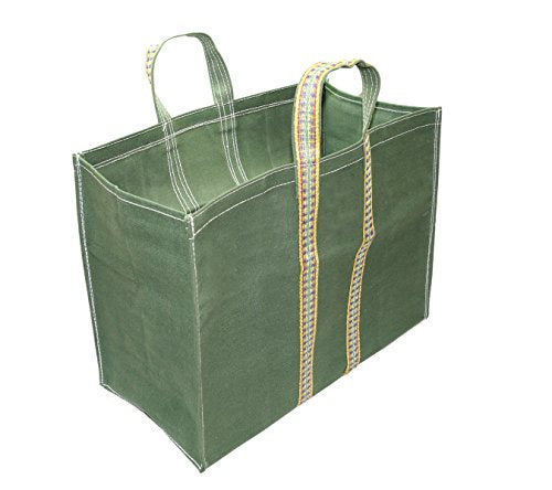 Super Strong Heavy Duty Shopping Bags/Grocery Bag/Vegetable Bag with Reinforced Handles & Thick Bottom for Strength (20.5x8x17 inch) | SpreeIndia.com - India's First Website That Discovers Eco-Friendly Products