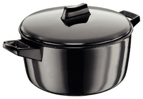 Hawkins Futura Hard Anodised Cook-n-Serve Bowl, 4 Litres, Black