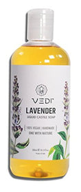 Vedi Lavender Liquid Castile Soap (300Ml) | SpreeIndia.com - India's First Website That Discovers Eco-Friendly Products