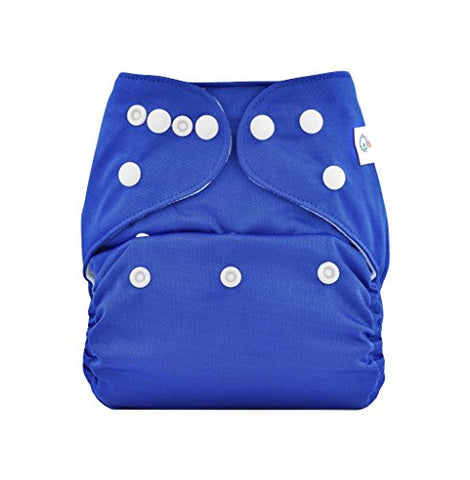 Bumberry Pocket Diaper (Deep Blue) and 1 Microfiber Insert