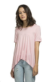 The Glu Affair Women's Pink Flared Top, Small | SpreeIndia.com - India's First Website That Discovers Eco-Friendly Products