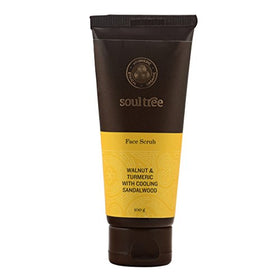 Soul Tree Walnut, Turmeric, Sandalwood Face Scrub (100 gm) | SpreeIndia.com - India's First Website That Discovers Eco-Friendly Products