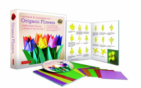 LaFosse & Alexander's Origami Flowers Kit: Lifelike Paper Flowers | SpreeIndia.com - India's First Website That Discovers Eco-Friendly Products