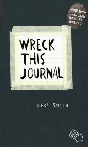 Wreck This Journal: To Create is to Destroy | SpreeIndia.com - India's First Website That Discovers Eco-Friendly Products