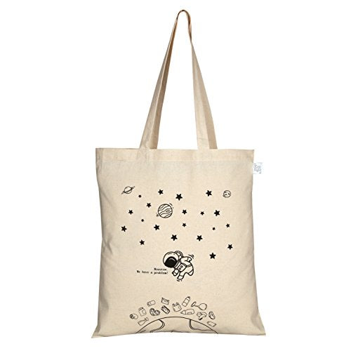 EcoRight Women's Reusable Cotton Ecofriendly Tote Bag (Beige, 0101B01) | SpreeIndia.com - India's First Website That Discovers Eco-Friendly Products