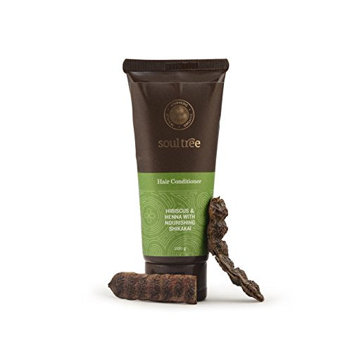 SoulTree Hair Conditioner with Hibiscus, Henna, Shikakai (200gm) | SpreeIndia.com - India's First Website That Discovers Eco-Friendly Products