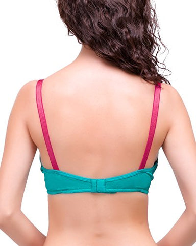 Organic Cotton & Bamboo Laced Soft Nursing Bra