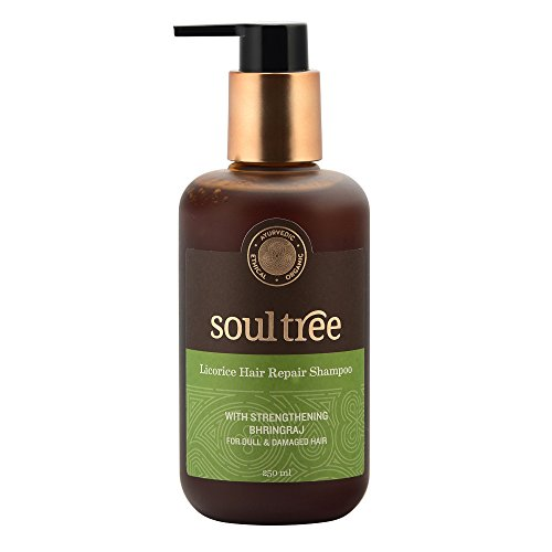 Soultree Shampoo with Licorice, Shikakai, Bhringraj (250ml) | SpreeIndia.com - India's First Website That Discovers Eco-Friendly Products