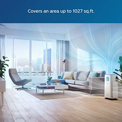 Philips 3000 Series AC3256 AeraSense Air Purifier (White)