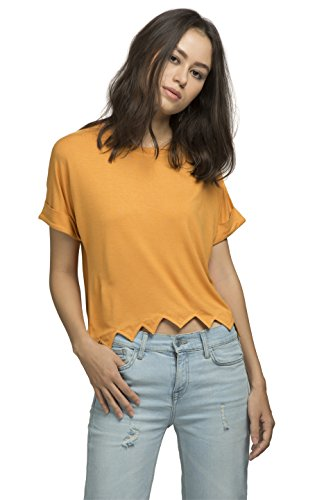 The Glu Affair Women's Modal Cut-Edge Top, Medium | SpreeIndia.com - India's First Website That Discovers Eco-Friendly Products
