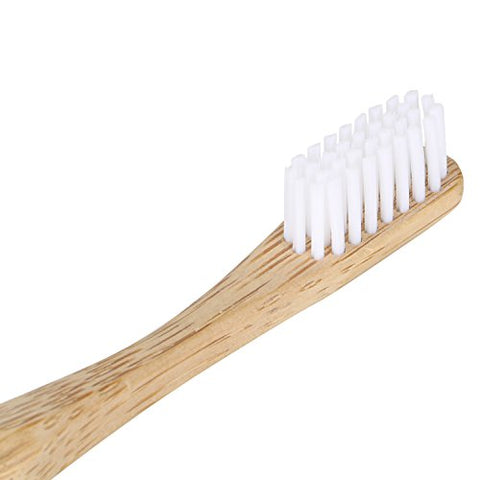 Adult Bamboo Toothbrush Circle Medium, White | SpreeIndia.com - India's First Website That Discovers Eco-Friendly Products