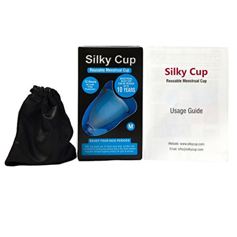Silky Cup Reusable Menstrual Cup for Women - Medium (30 Years and Above) | SpreeIndia.com - India's First Website That Discovers Eco-Friendly Products