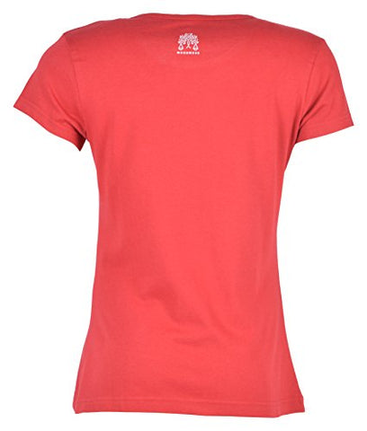 Woodwose Organic Clothing Women's Organic Cotton T-Shirt (OCWTSCP01-S, Red, Small) | SpreeIndia.com - India's First Website That Discovers Eco-Friendly Products