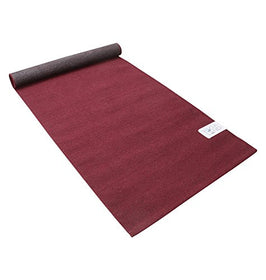 "Yoga Land Mat - Guru Garnet 6 mm, 25""x 72"" (100% Cotton, ANTI-SKID, Washable) 