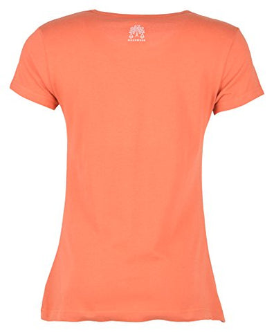 Woodwose Organic Clothing Women's Organic Cotton T-Shirt (OCWTSOR01-M, Orange, Medium) | SpreeIndia.com - India's First Website That Discovers Eco-Friendly Products