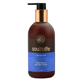 SoulTree Rose & Vetiver Shower Gel (300 ml) | SpreeIndia.com - India's First Website That Discovers Eco-Friendly Products