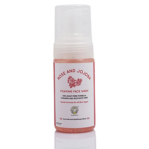 Greenberry Organics Rose & Jojoba Oil Face Wash (100ml) | SpreeIndia.com - India's First Website That Discovers Eco-Friendly Products