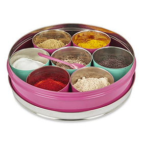 Eco-Friendly Spice/Masala Box Stainless Steel
