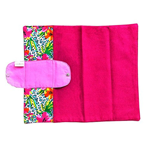 Foldable Vibrant Reusable Sanitary Pad (1 Pad Per Pack) | SpreeIndia.com - India's First Website That Discovers Eco-Friendly Products