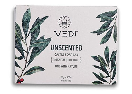 Vedi Unscented Castile Soap Bar, 100 Grams | SpreeIndia.com - India's First Website That Discovers Eco-Friendly Products
