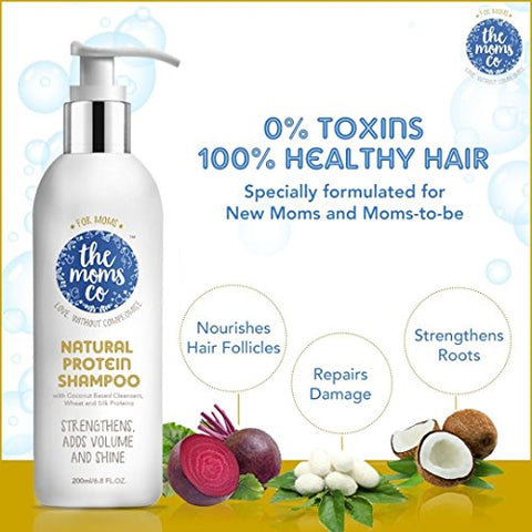 The Moms Co. Shampoo For Hairfall (200ml) | SpreeIndia.com - India's First Website That Discovers Eco-Friendly Products