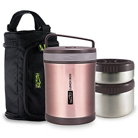 Double Wall Vacuum Insulated Stainless Steel Lunch Box