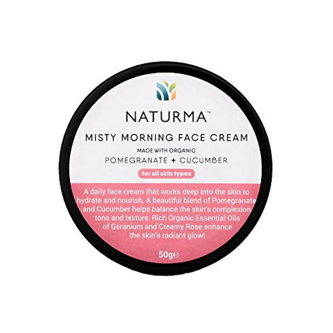 Naturma Pomegranate and Cucumber Face Cream, 50gm | SpreeIndia.com - India's First Website That Discovers Eco-Friendly Products