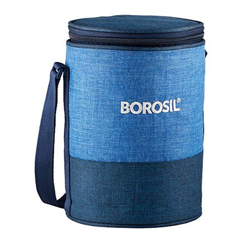 Borosil Prime Glass Lunch Box (Set of 3)