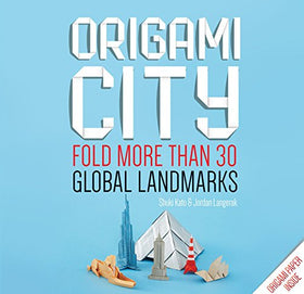 Origami City: Fold More Than 30 Global Landmarks | SpreeIndia.com - India's First Website That Discovers Eco-Friendly Products