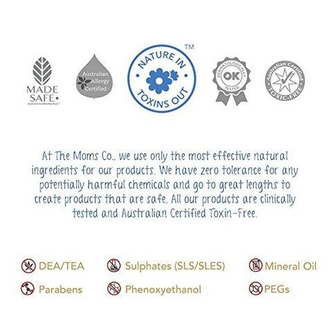 The Moms Co. Tear-Free Natural Baby Shampoo with USDA-Certified Organic Argan and Moringa Seed Oils - 200ml