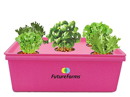 Future Farms Darwin Penta Hydroponic Starter Kit (Red) | SpreeIndia.com - India's First Website That Discovers Eco-Friendly Products