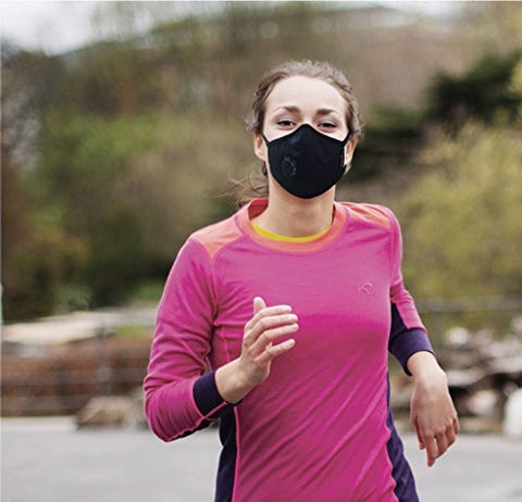 Grinhealth Anti-Pollution Mask, Black (N-Series N99) | SpreeIndia.com - India's First Website That Discovers Eco-Friendly Products