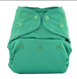 Bumberry Reusable Diaper Cover without Insert - Blue Green