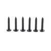 18 inch Cane Bolt Gate Drop Rod Black Coated Finish 2 Pack Home Master Hardware