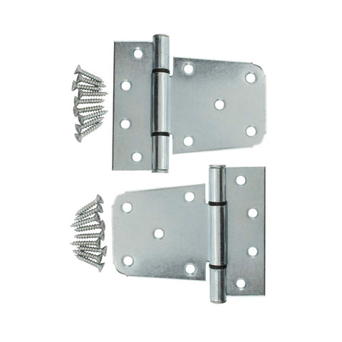 Specialty Hardware Heavy Duty 3-1/2 inch T Hinge Stainless Steel Gate Hinges  20 pcs