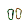 Home Master Hardware 5/16 in x 3 in Aluminum D Ring Carabiners Clips 10 Pack