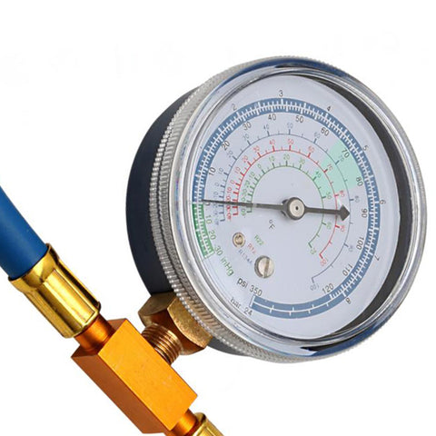 Towswell Enviro-Safe R-134a Can to R12 & R22 Refrigerant Recharge Hose Can Tap with Gauge