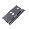 Pack of 30 Door Hinges Oil-Rubbed Bronze 3.5 Inch Interior Hinges with Square Corners by Home Master Hardware