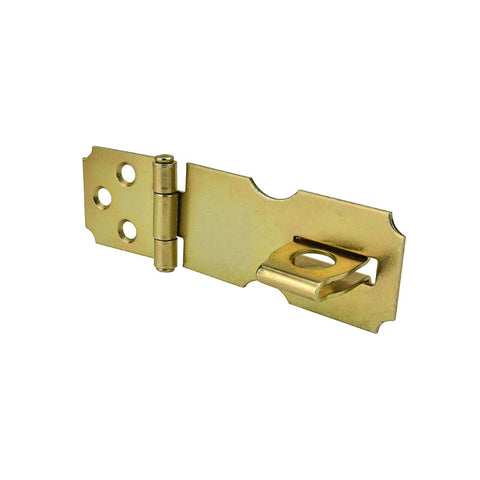 "Safety Hasp - 2.5"" Satin Brass"