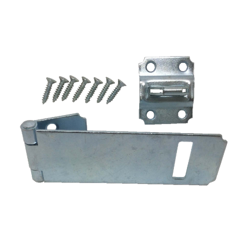 "Safety Hasp -  4.5"" Zinc Plated"