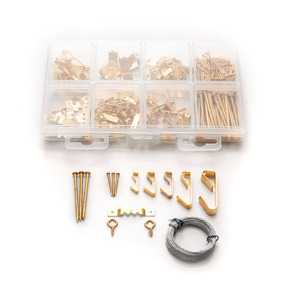 Picture Hanging Kit 217 Piece Home Master Hardware
