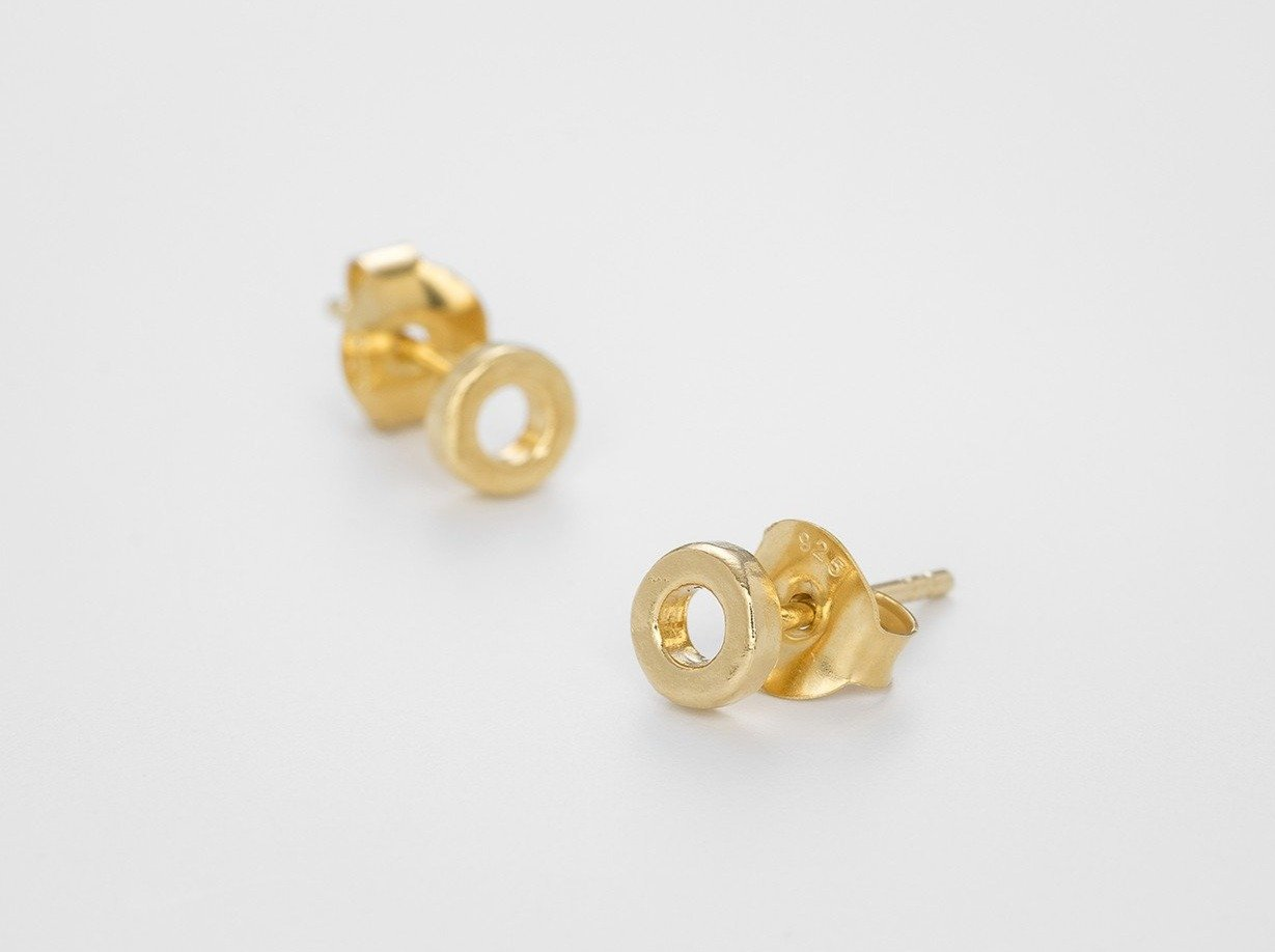 Eternity Earstuds - Bjørg Jewellery