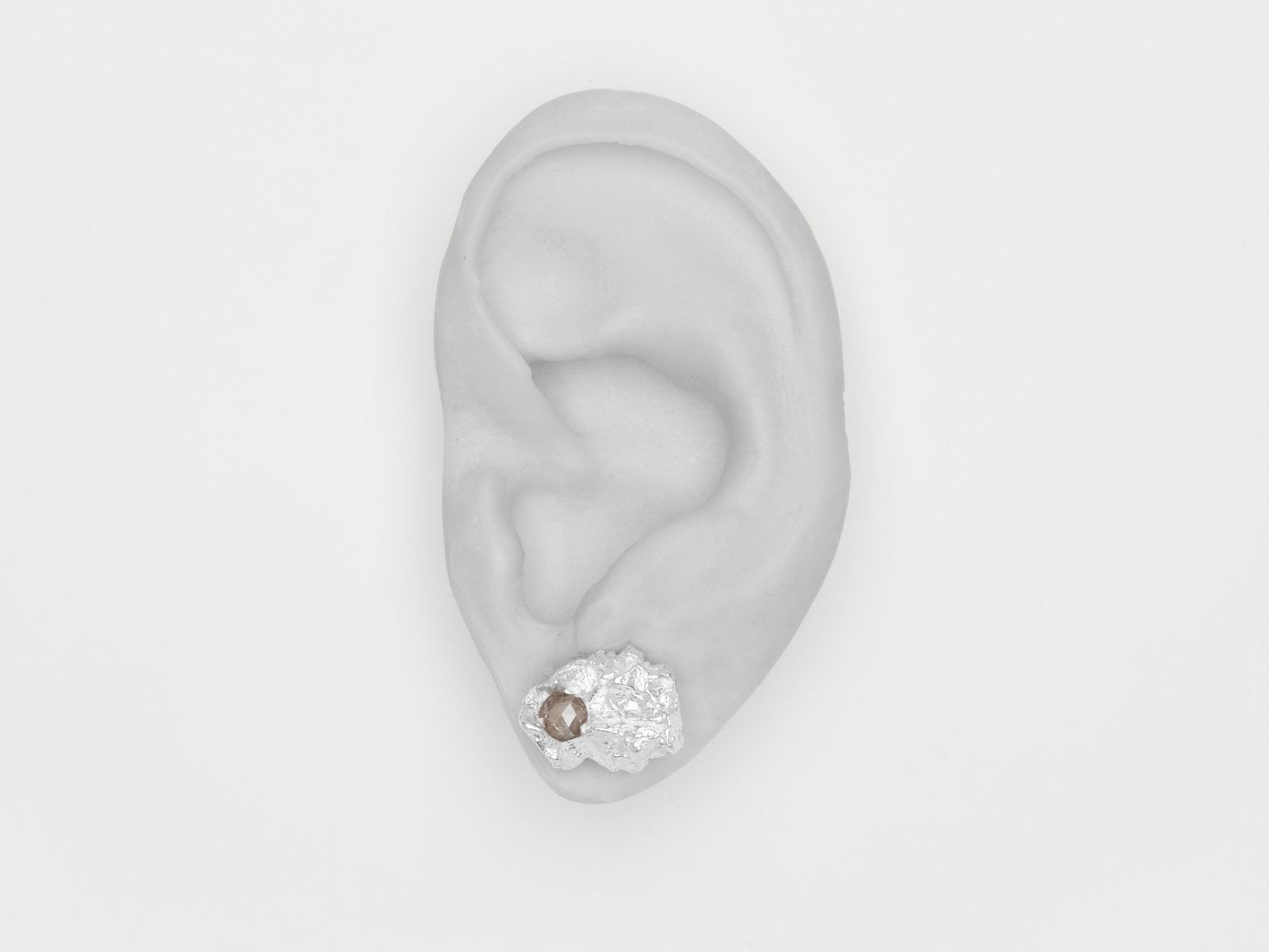 Diamond Rain single earstud (L)