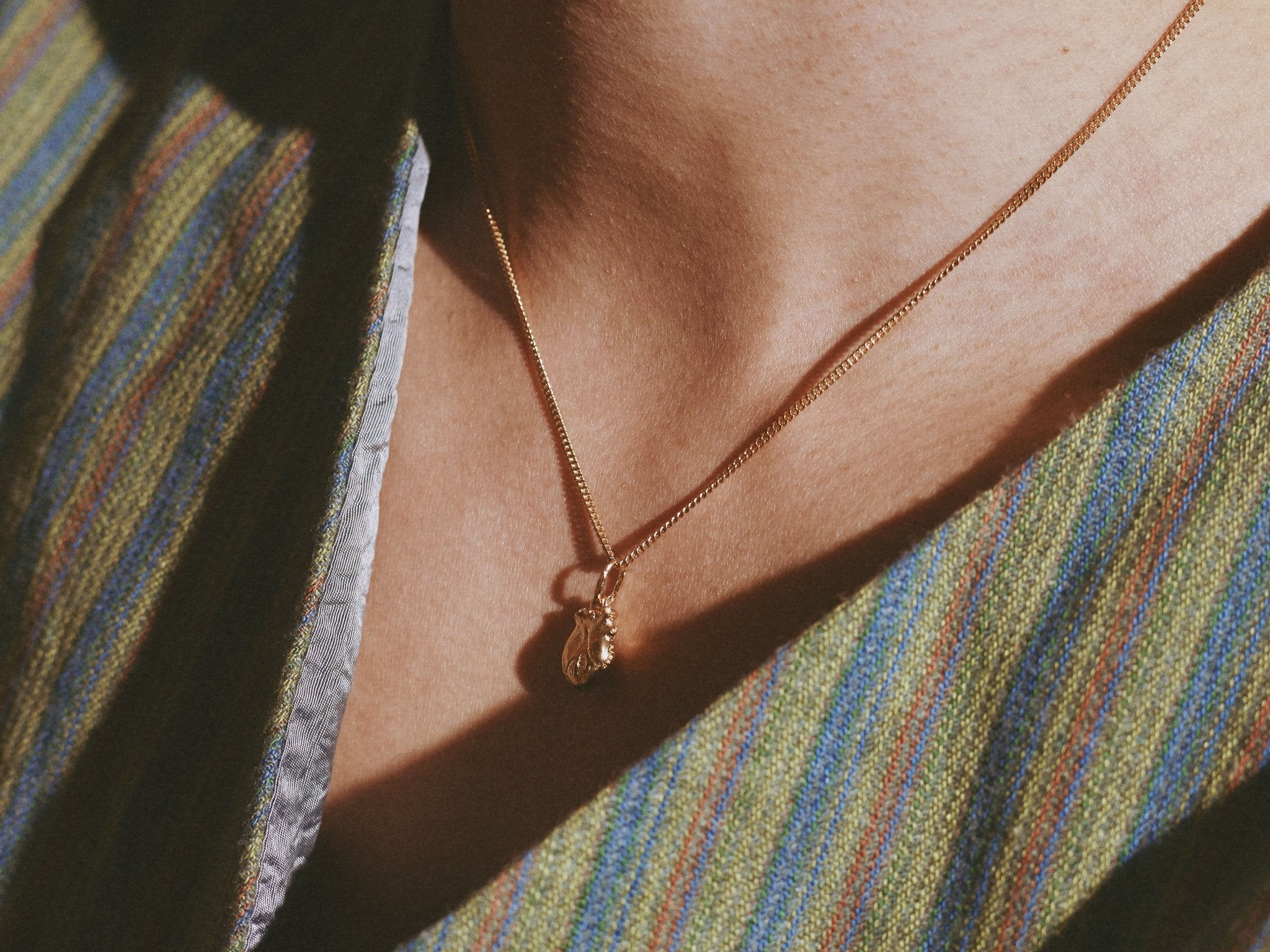 Human Heart Necklace (small)