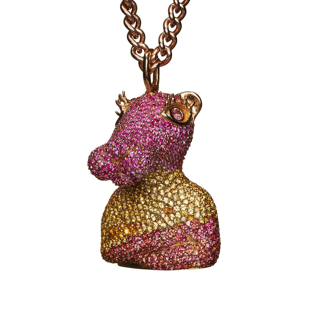 Pink Panther Necklace - Bjørg Jewellery