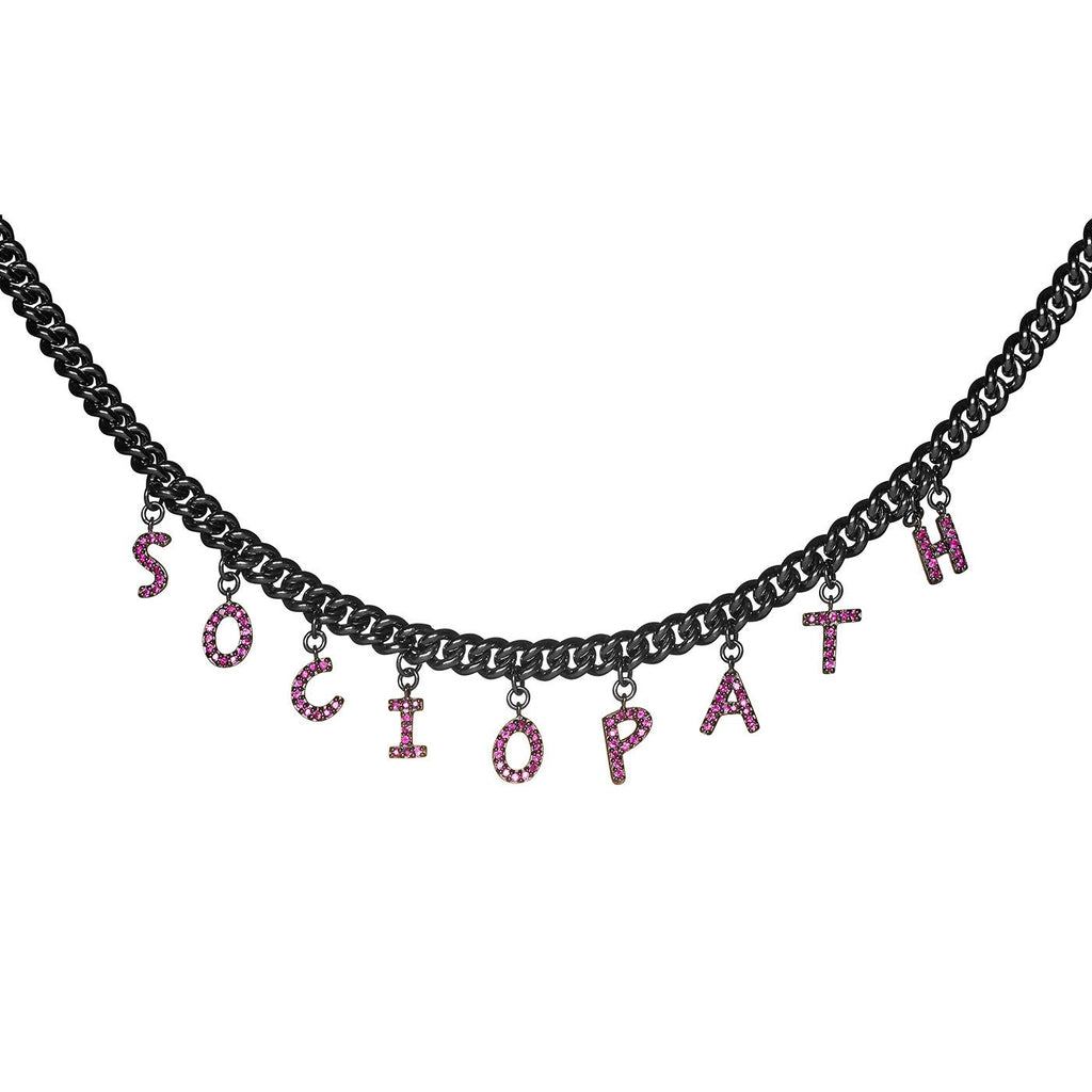 Sociopath Necklace