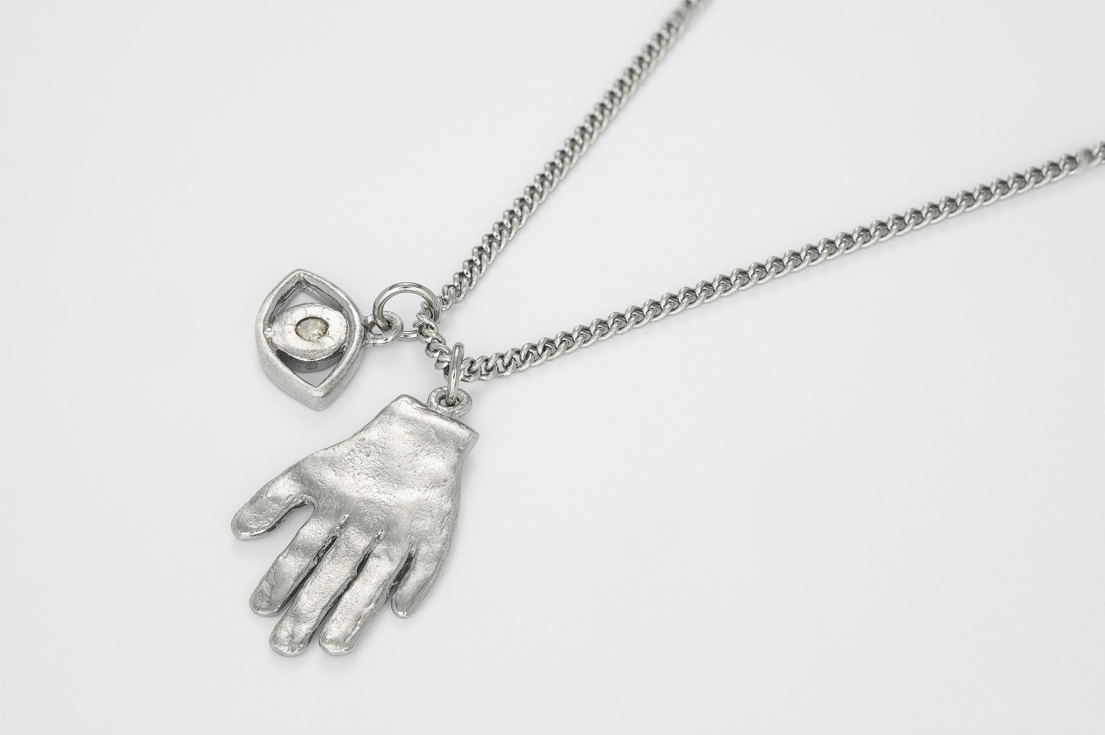 The age the lighting the hand the eye Necklace