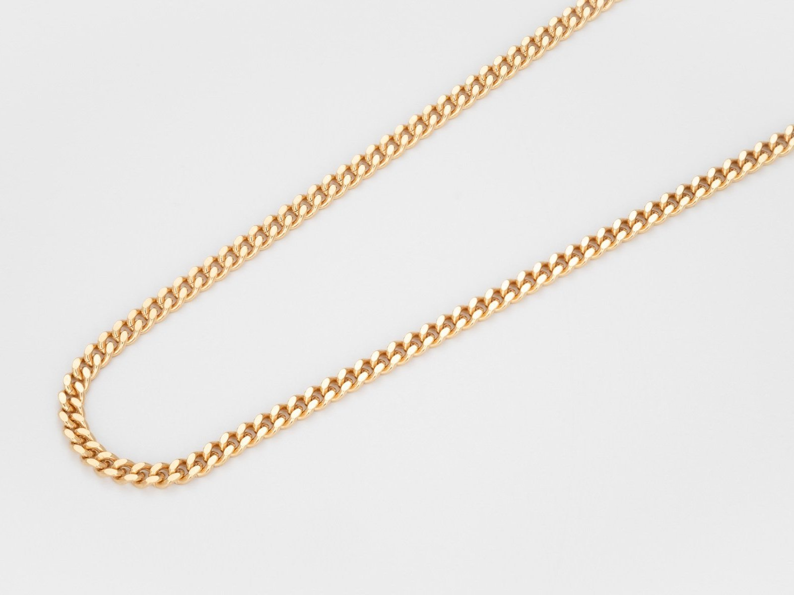 Long diamond cut chain