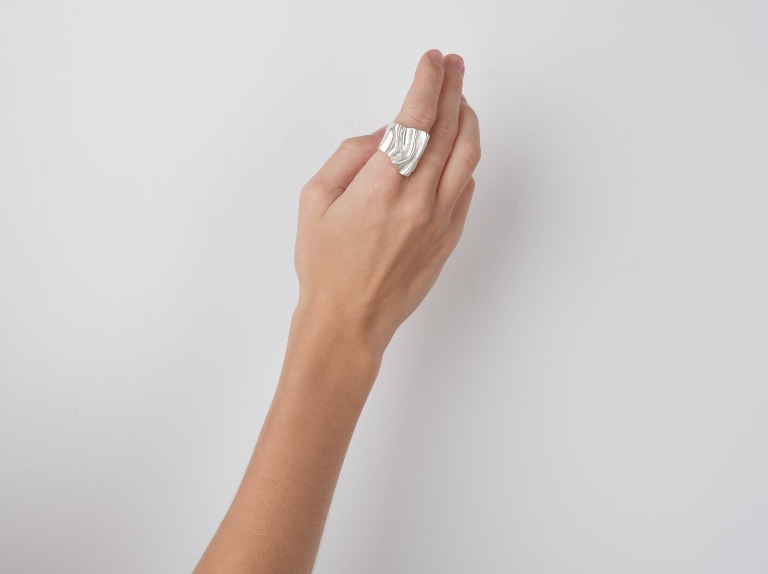 The Biomorph Silver Ring